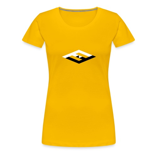 farfuture logo tshirts 25prozent - Frauen Premium T-Shirt