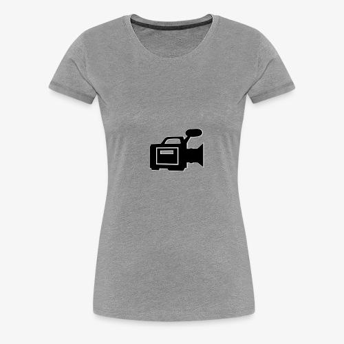 camera - Dame premium T-shirt