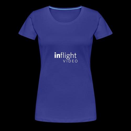 logo transparent bg large monowhite - Women's Premium T-Shirt