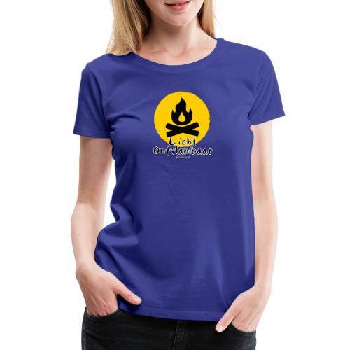 Licht ontvlambaar - Vrouwen Premium T-shirt