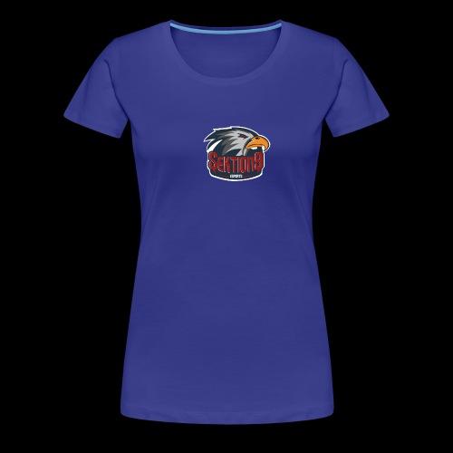 Sektion9 logo Grau - Frauen Premium T-Shirt