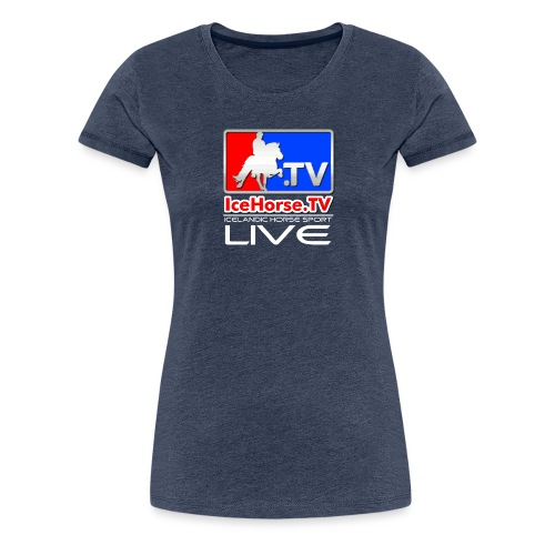 IceHorse logo - Women's Premium T-Shirt