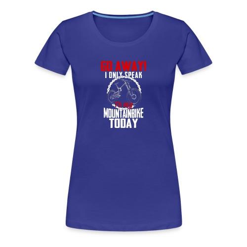 Mountainbike Shirt · Fahrrad · Downhill · Biker - Frauen Premium T-Shirt
