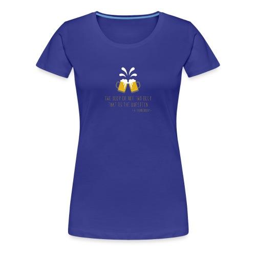 Two beer - Women's Premium T-Shirt