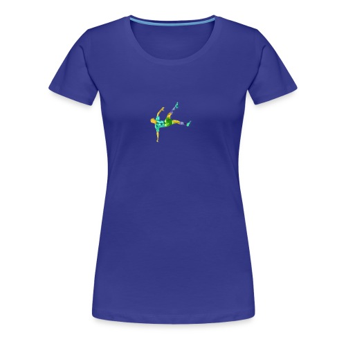 Footballer - T-shirt Premium Femme