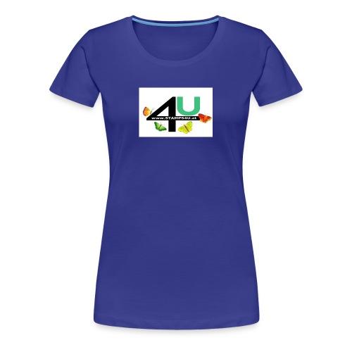 LOGO STAMPS4U - Frauen Premium T-Shirt
