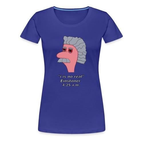 Einstoner2 - Frauen Premium T-Shirt