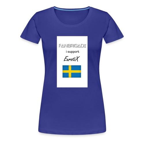 Fanbrigade - Dame premium T-shirt