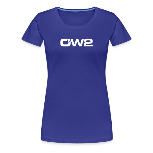 OW2 Logo Evolution White - Women's Premium T-Shirt