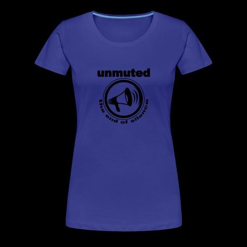 unmuted - Frauen Premium T-Shirt