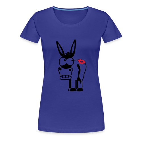 Kiss My Ass - Vrouwen Premium T-shirt