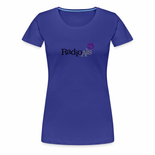 RadioAls Logo CMYK - Dame premium T-shirt