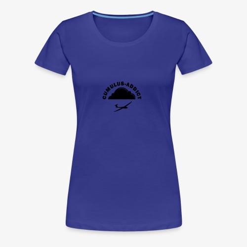 Cumulus addict - T-shirt Premium Femme