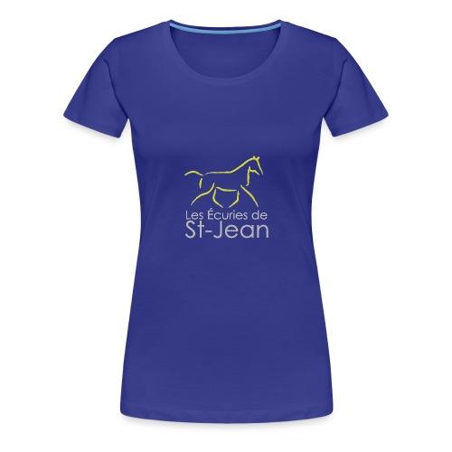 Les Ecuries de St Jean - T-shirt Premium Femme
