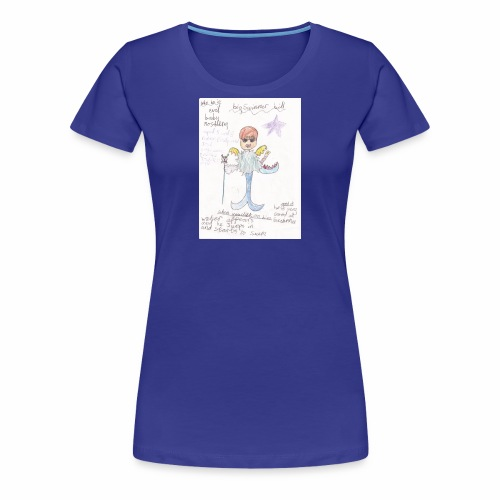 Big Swimmer Bill DHIRT - Women's Premium T-Shirt