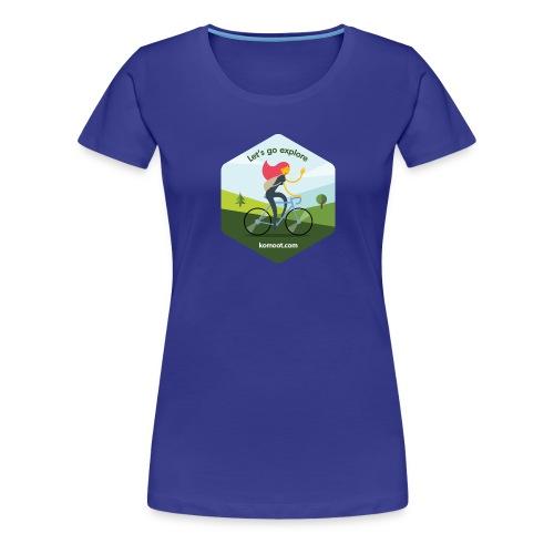 Let's go explore - Frauen Premium T-Shirt