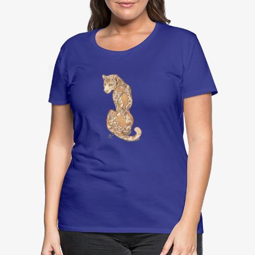 Geopard - by Alector - Frauen Premium T-Shirt