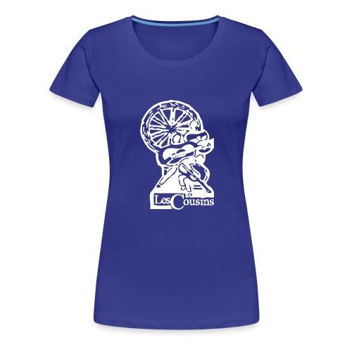 Les Cousins Logo - Women's Premium T-Shirt