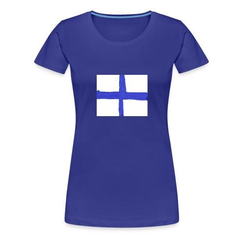 finland - Premium-T-shirt dam
