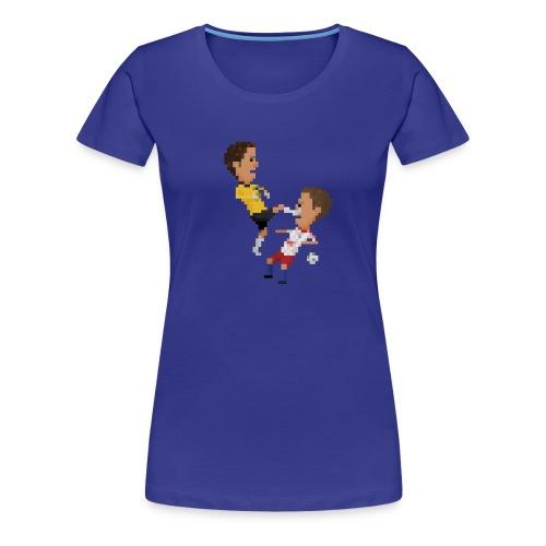 Kungfu goalkeeper from Bremen - Women's Premium T-Shirt