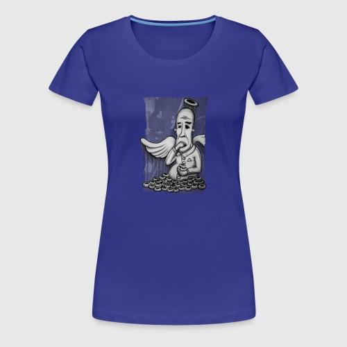 Donut Monster - Frauen Premium T-Shirt