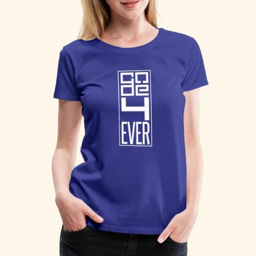 Code4ever White - Women's Premium T-Shirt