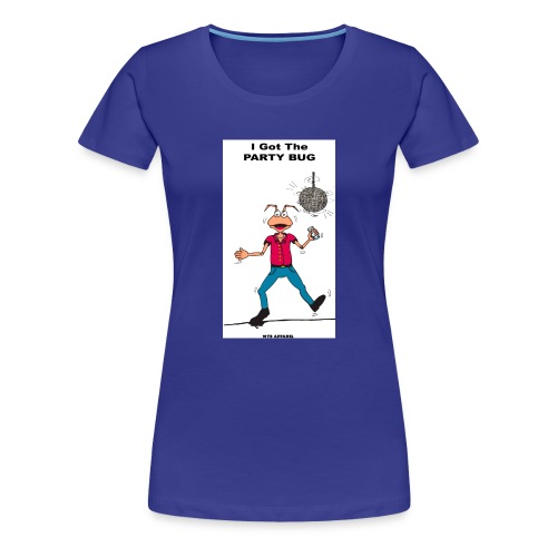 BACK PARTY BUG COL - Women's Premium T-Shirt