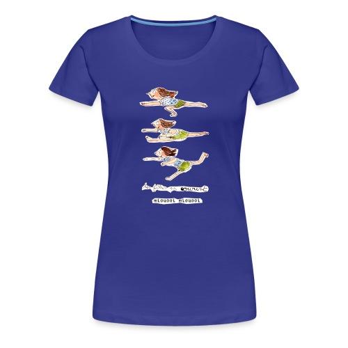 Les filles qui courent de Micucci Micucci - T-shirt Premium Femme