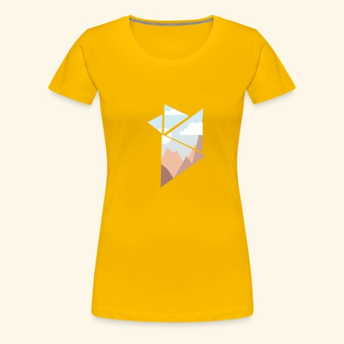 shattered - Premium-T-shirt dam