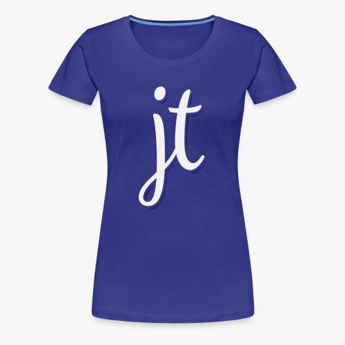 JoëlToet Logo 2 - Vrouwen Premium T-shirt