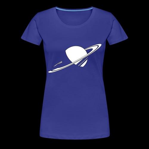 saturne tout transparent png - T-shirt Premium Femme