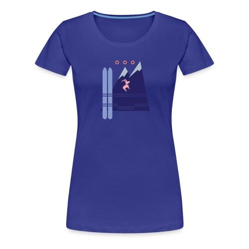 Shirt Motiv Mellau Damüls - Frauen Premium T-Shirt