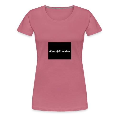 #teamfrituurstok - Vrouwen Premium T-shirt