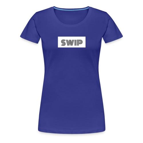 logo boîte SWIP - T-shirt Premium Femme
