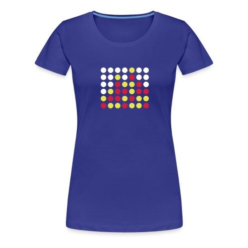 Vier gewinnt! - Frauen Premium T-Shirt