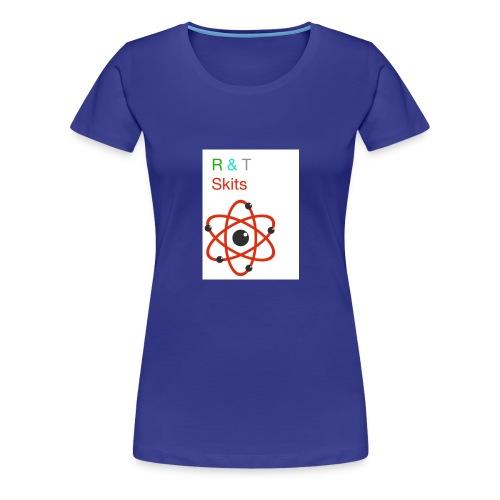 R & T skits YT channel design - Women's Premium T-Shirt
