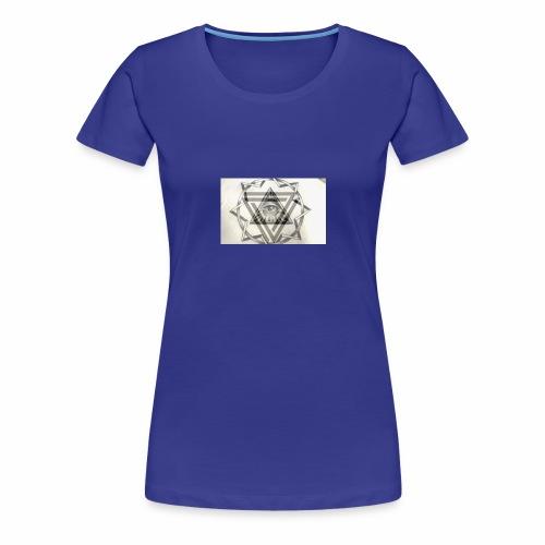 el ojo - Camiseta premium mujer