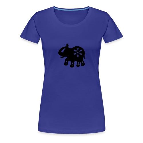 Indischer ELEFANT - Frauen Premium T-Shirt