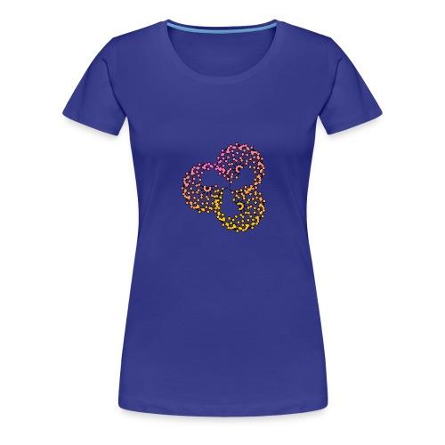 Three Ball Geometric - Women's Premium T-Shirt