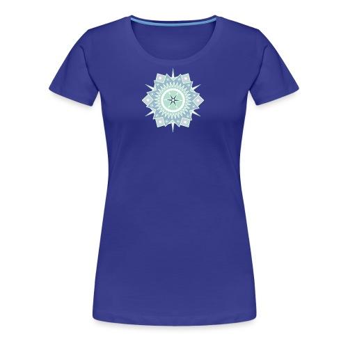 Weihnachtlicher Stern - Frauen Premium T-Shirt