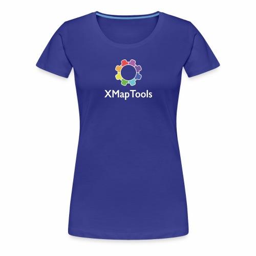 XMapTools - Maglietta Premium da donna