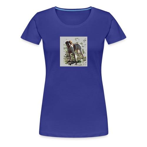 chien épagneul breton - T-shirt Premium Femme