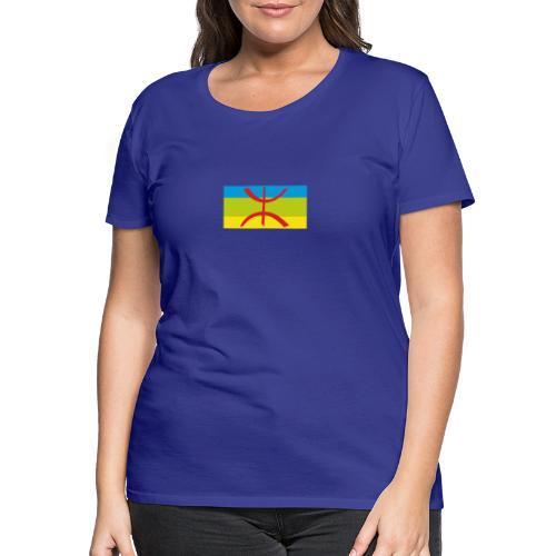 drapeau berbere tamazgha - T-shirt Premium Femme