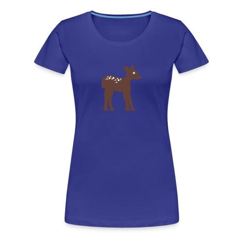 Rehkitz - Frauen Premium T-Shirt