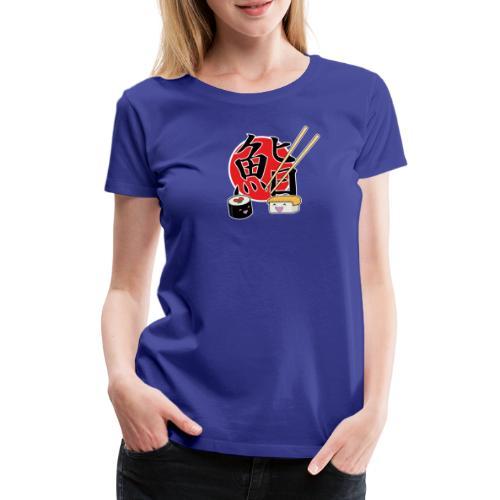 sushi - Vrouwen Premium T-shirt