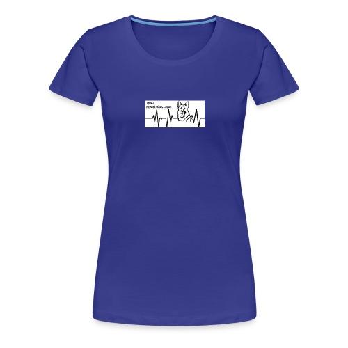 Heartbeat - Premium T-skjorte for kvinner
