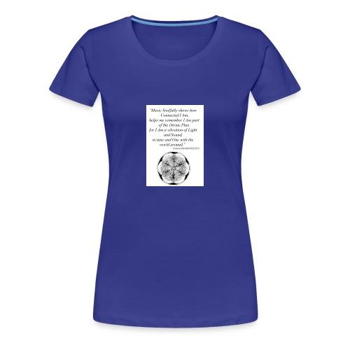 'Soul' *ROOTS Design* GraceGabriellaPOETICS - Women's Premium T-Shirt