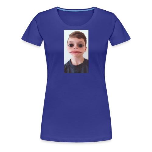Funny Face - Women's Premium T-Shirt