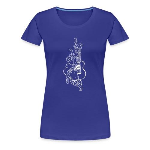 ukulélé - T-shirt Premium Femme