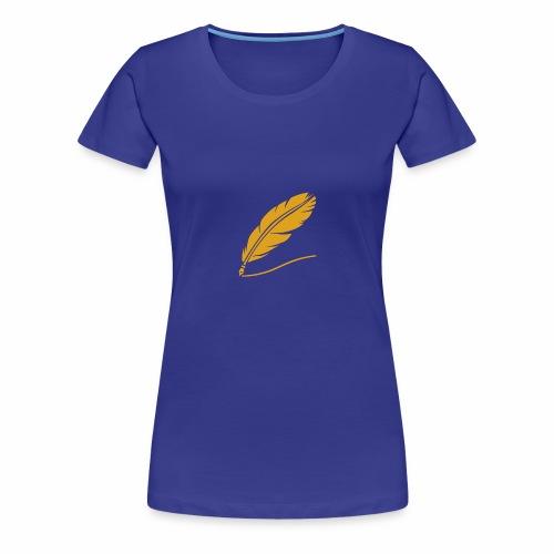 Pluma - Camiseta premium mujer